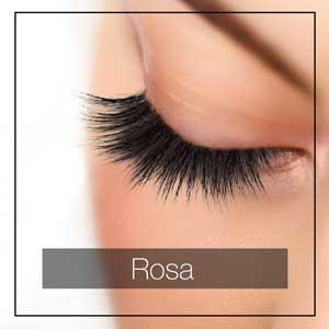 Wimpernband Rosa